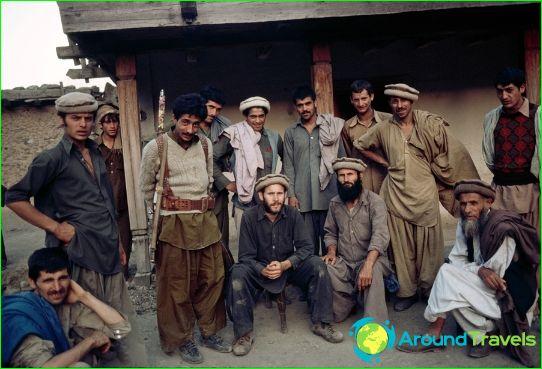 Население в Афганистан