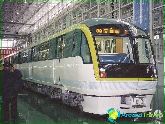 Fukuoka Metro: kaavio, kuva, kuvaus
