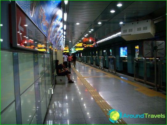 Metro Daegu: диаграма, снимка, описание