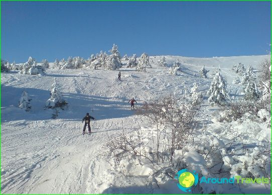 Alpine skiën op de Krim