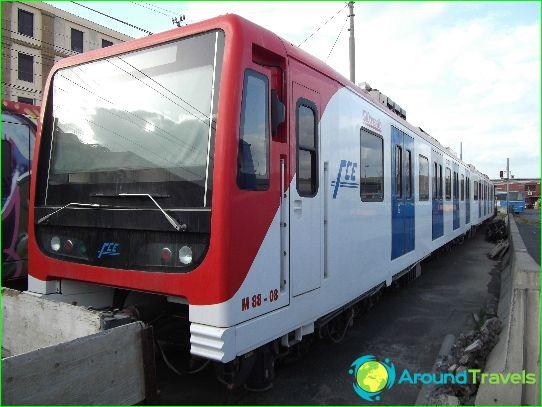 Metro Catania: kaavio, kuva, kuvaus