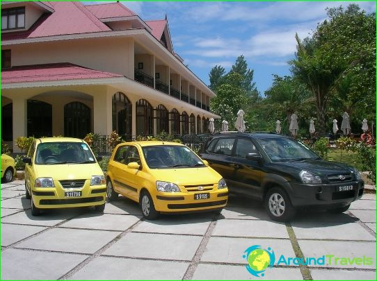 Autoverhuur op de Seychellen
