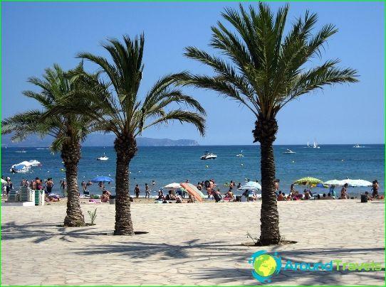 Най-добрите курорти на Испания
