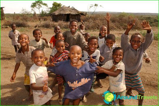 Етиопско население