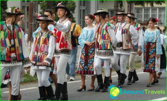 Румънско население