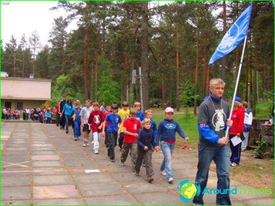 Kinderkampen in de regio Tver