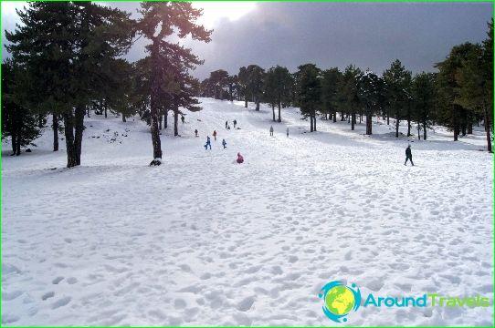 Alpine skiën in Cyprus