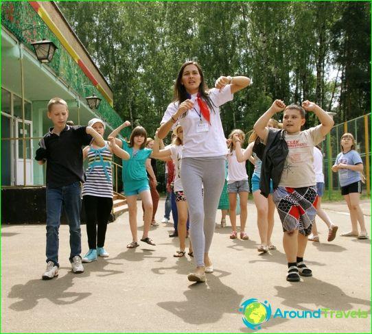Kinderkampen in Pushkino