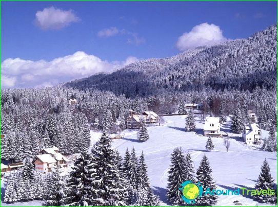 Алпийски ски в Румъния