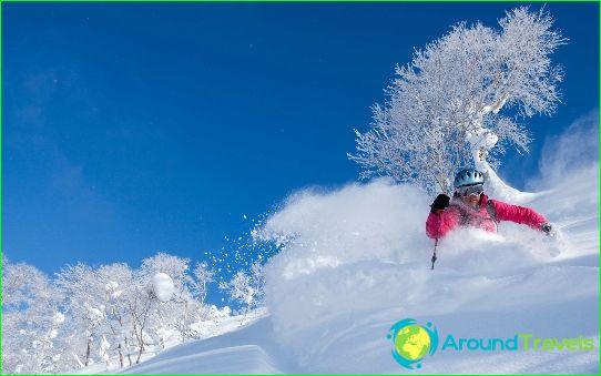 Alpine skiën in Japan