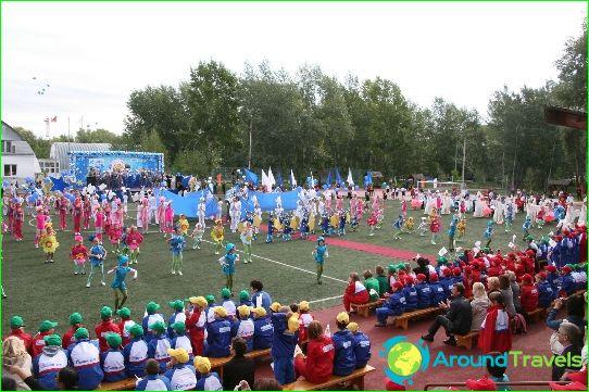 Lasten leirit Orenburgin alueella