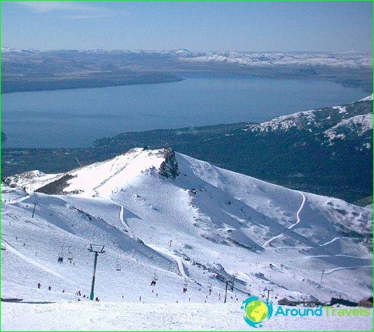 Алпийски ски в Аржентина