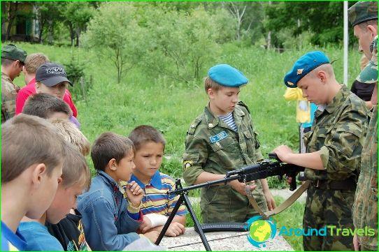 Детски лагери в Приморския край