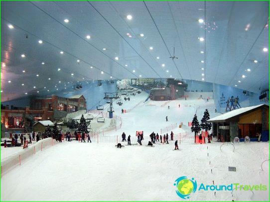 Алпийски ски в ОАЕ