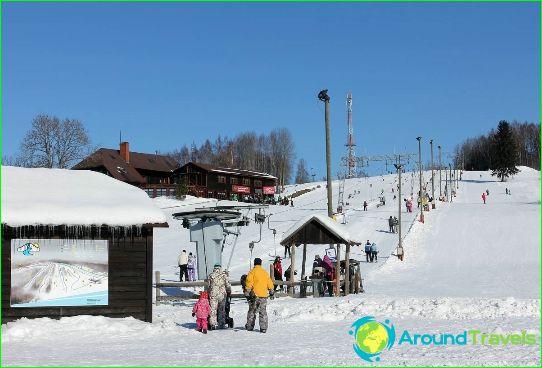Алпийски ски в Естония