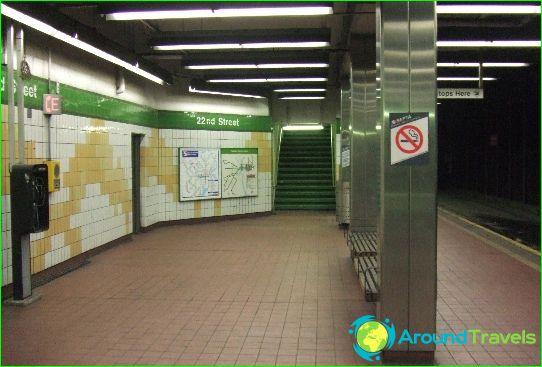 Philadelphia Metro: ábra, fénykép, leírás