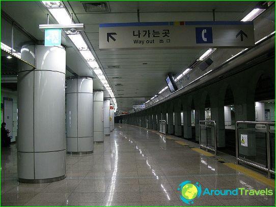 Metro Incheon: kaavio, kuva, kuvaus