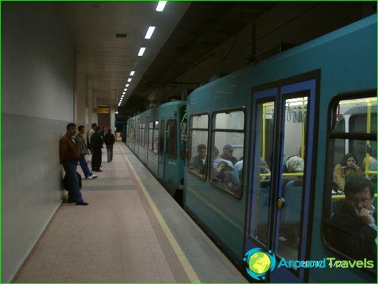 مترو بورصة: مخطط ، صورة ، وصف
