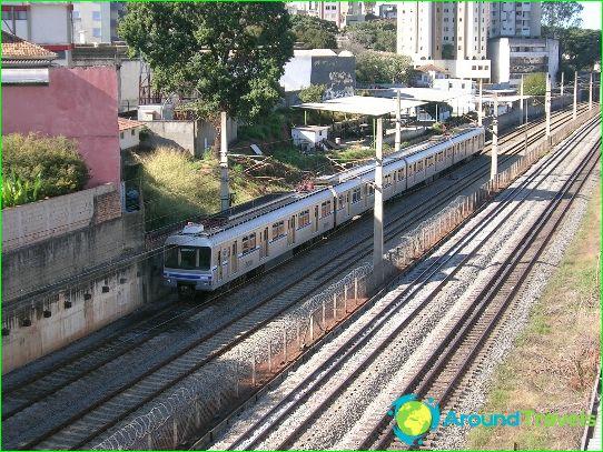 Metro Belo Horizonte: kaavio, kuva, kuvaus