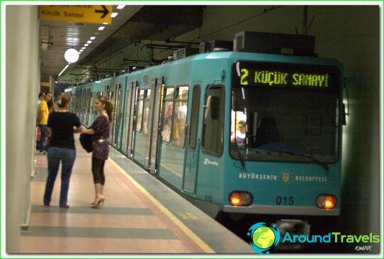 Metro Bursa: schema, foto, beschrijving