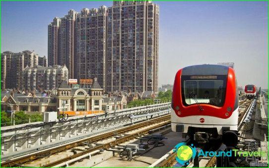 Wuxi Metro: schema, foto, beschrijving