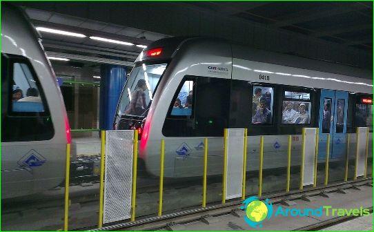 Mashhad Metro: диаграма, снимка, описание