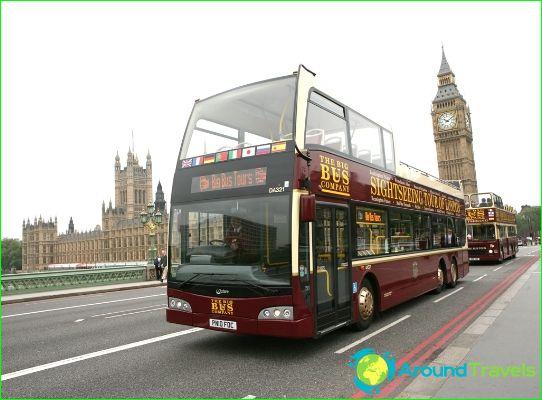 Обиколки в Лондон