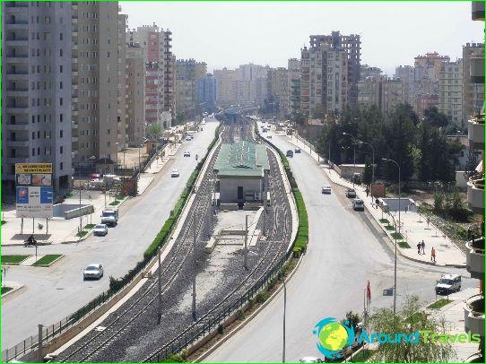Метро Адана: схема, снимка, описание