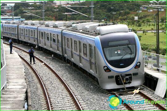 Metro Salvador: kaavio, kuva, kuvaus