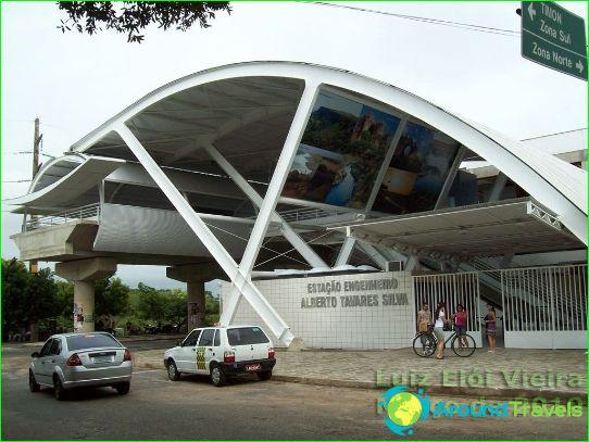 Metro Teresina: schema, foto, beschrijving
