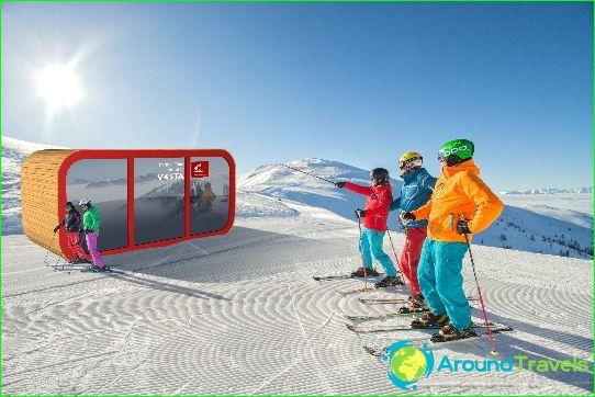 Bad Kleinkirchheim: skiën en thermen