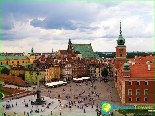 Warschau is de hoofdstad van Polen