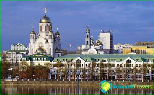 Retket Jekaterinburgissa