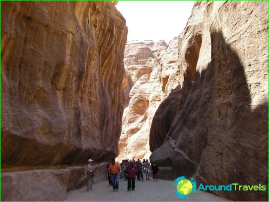 Excursies in Taba