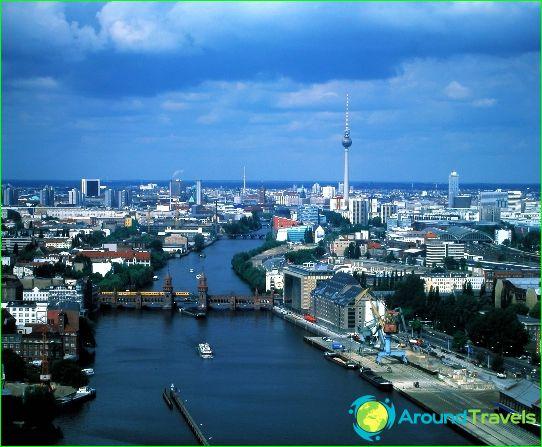Berlijn is de hoofdstad van Duitsland