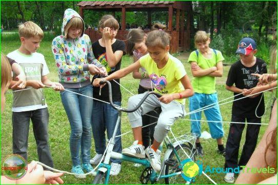 Lasten leirit Novosibirskin alueella