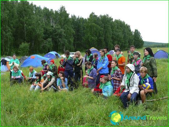 Lasten leirit Krasnojarskin alueella