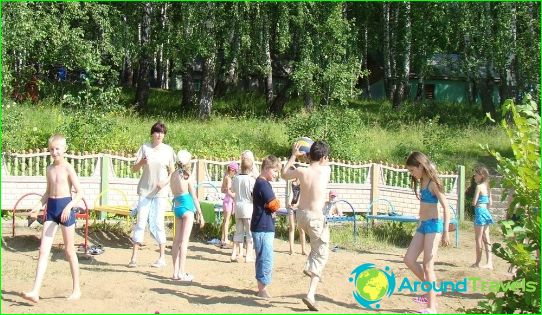 Lasten leirit Kemerovossa