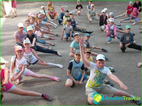 Kinderkampen in Cheboksary