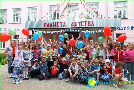Kinderkampen in de regio Kharkiv