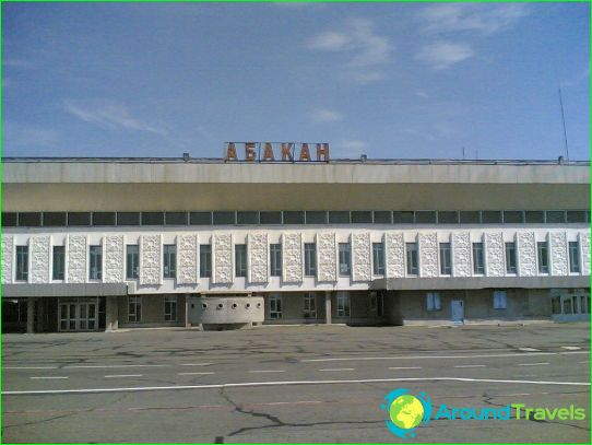 Luchthaven in Abakan