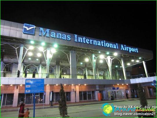 Lentokenttä Biškek