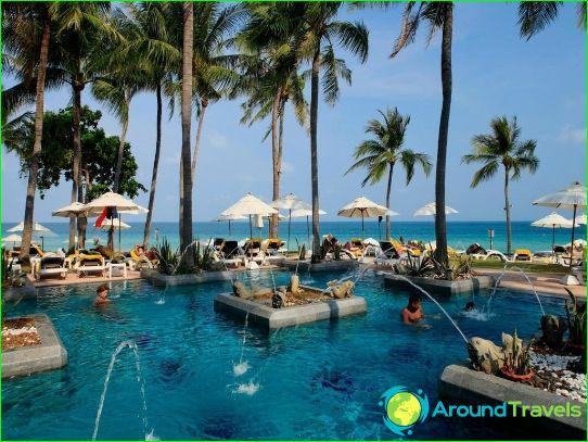 Vakantie in Thailand in juli