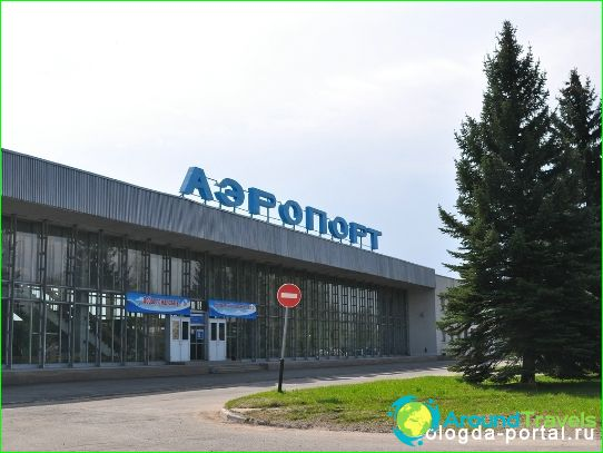 Luchthaven in Vologda
