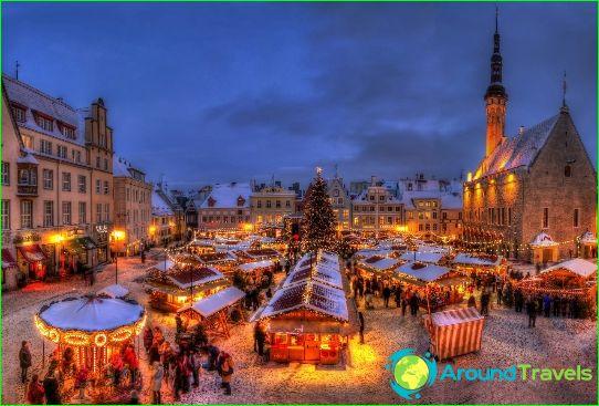 Tallinn is de hoofdstad van Estland