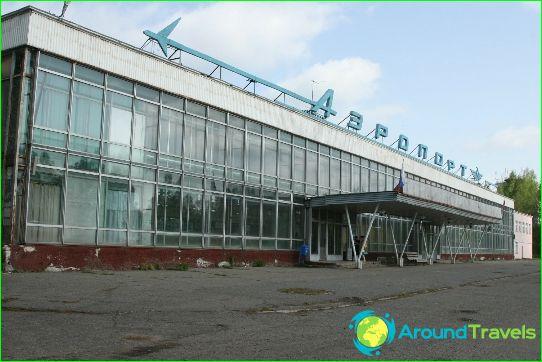 Luchthaven in Kirov