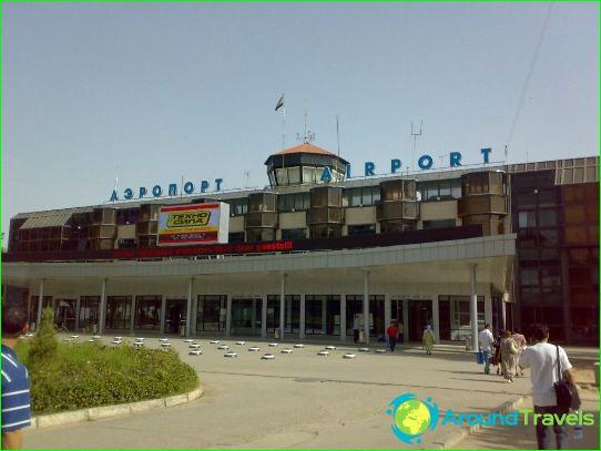 Летище в Душанбе