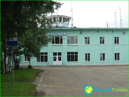 Luchthaven in Kostroma