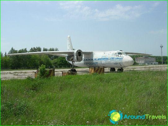 Luchthaven in Koersk
