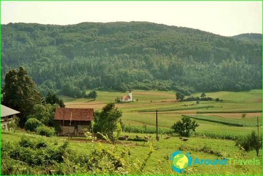 العطل في سلوفينيا في يوليو